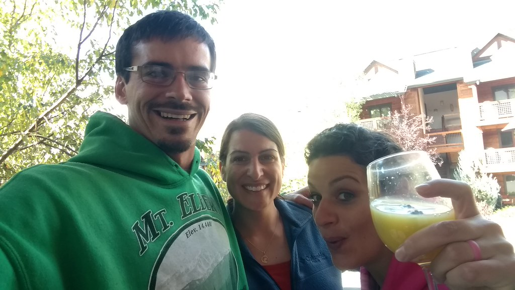 Mimosas for breakfast =)