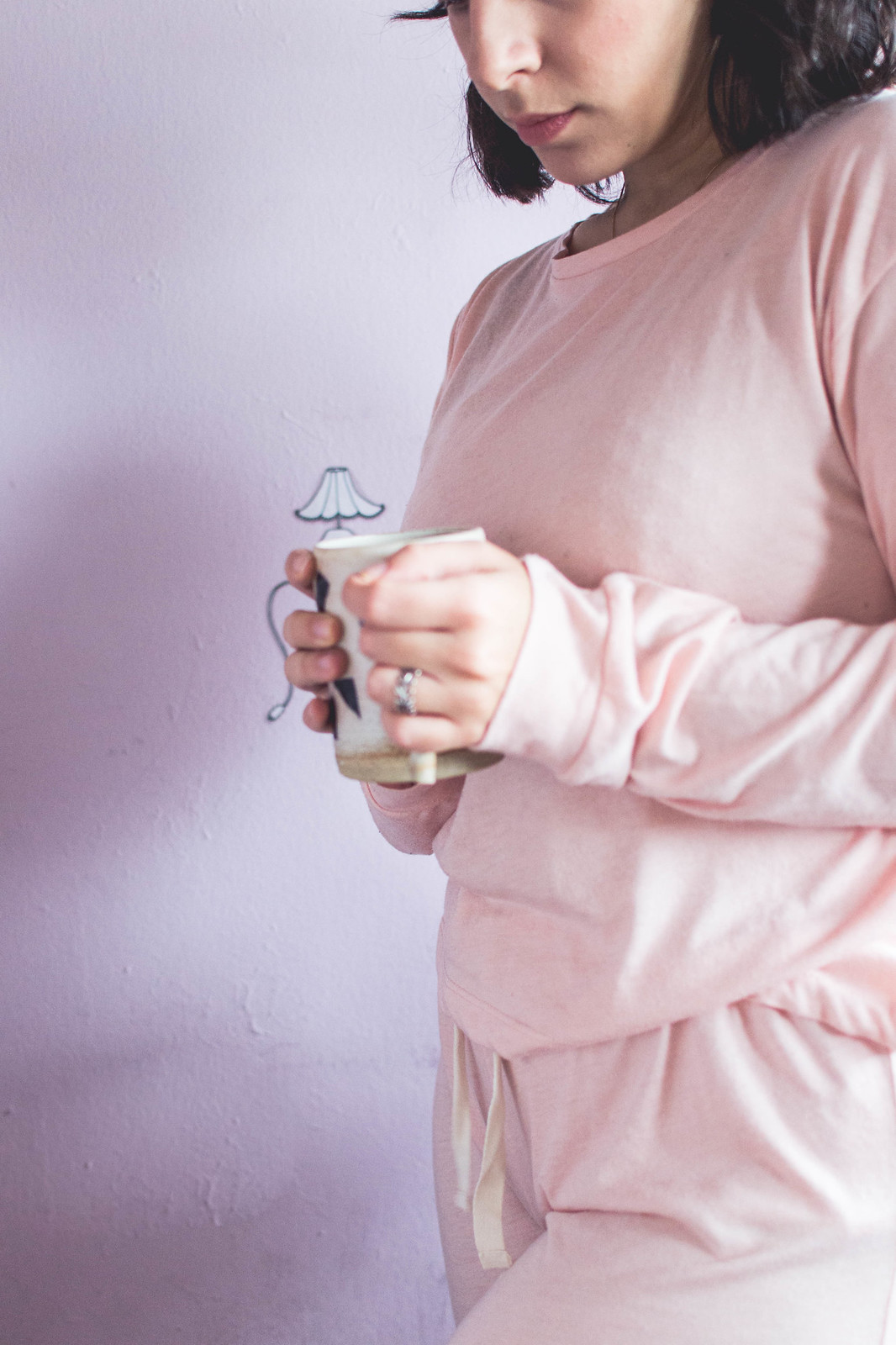 Between my November favourites: cosy and soft pink PJs from Chelsea Peers