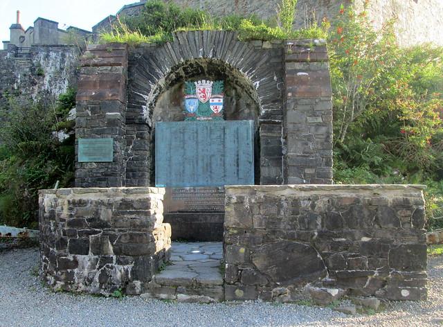 Macrae Memorial, Eilean Donan Castle