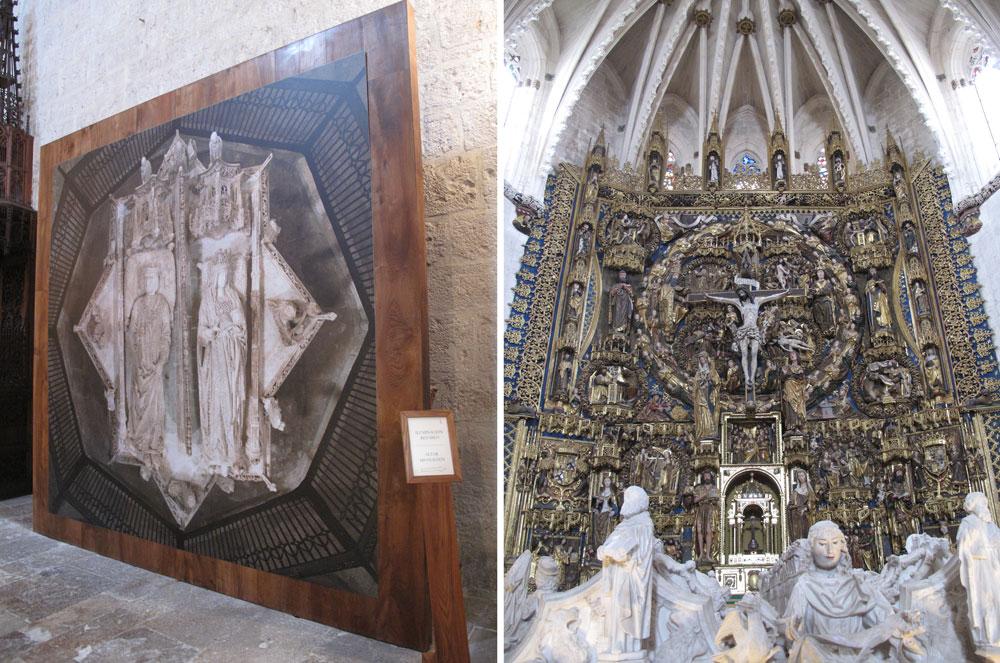 cartuja de miraflores_burgos_patrimonio_ruta no turistica_sepulcro_retablo