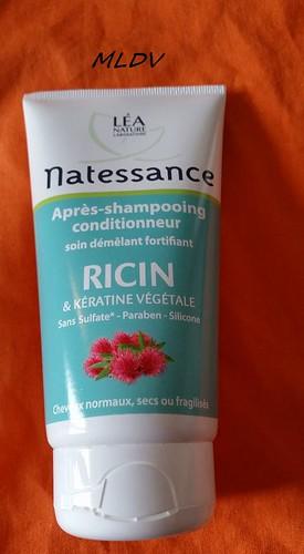 après shampooing Ricin & Kératine de NATESSANCE