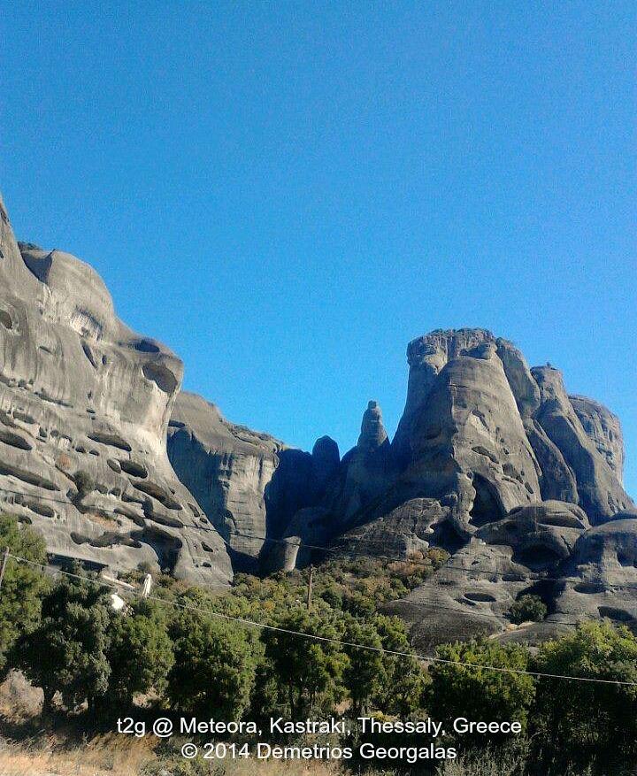 #Meteora, #Kastraki, #Thessaly, #Greece  #Meteora, # ...