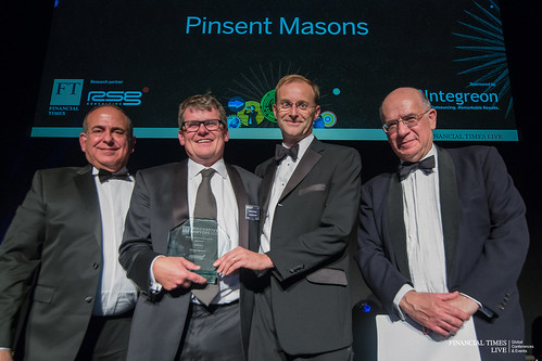 Pinsent Masons – Winner for Most Innovative Law Firm in Europe