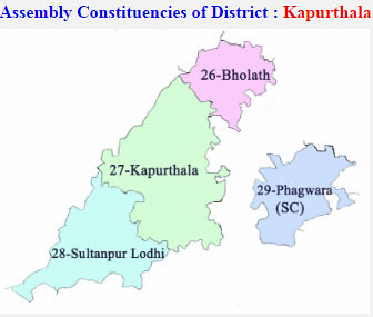 Kapurthala district Punjab Election 2017