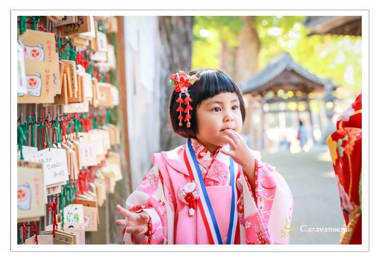 挙母神社(愛知県豊田市) 姉妹 七五三の前撮り写真出張撮影 公園 自然な フォトスタジオ 写真館 全データ 女の子 着物