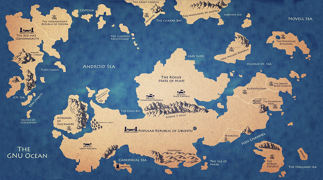 Карта Linux