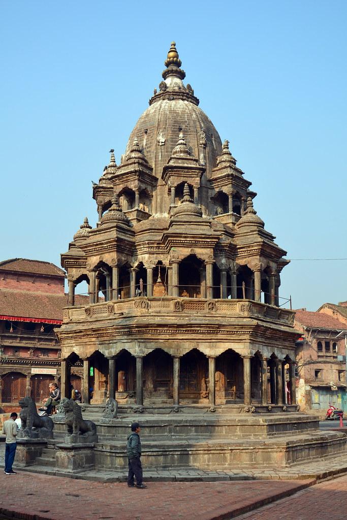 nepal - patan - durbar square