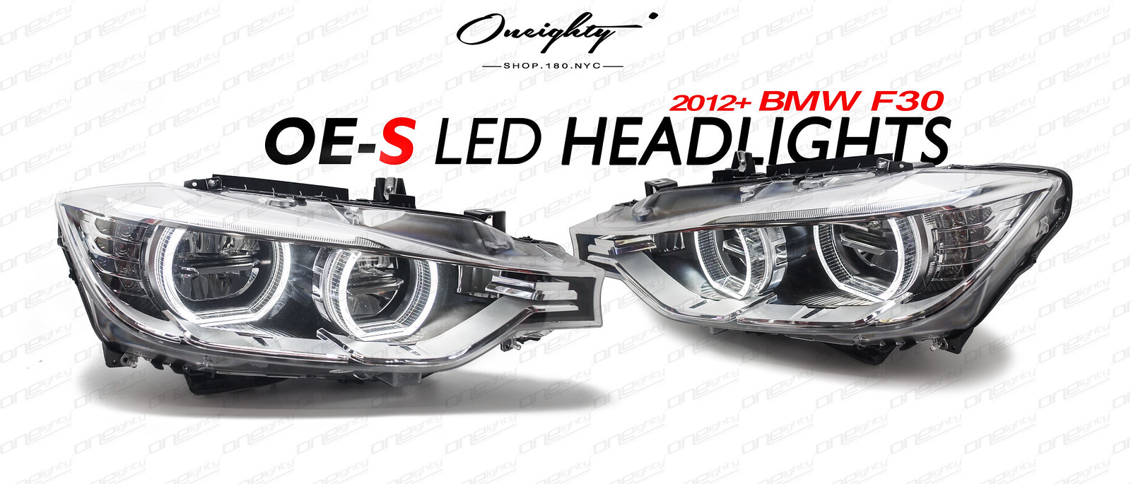 Oneighty Oe S F30 Led Headlight Upgrade For Halogen