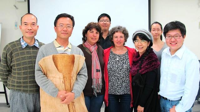 台灣跨國研究團隊成員。圖片提供:鍾國芳