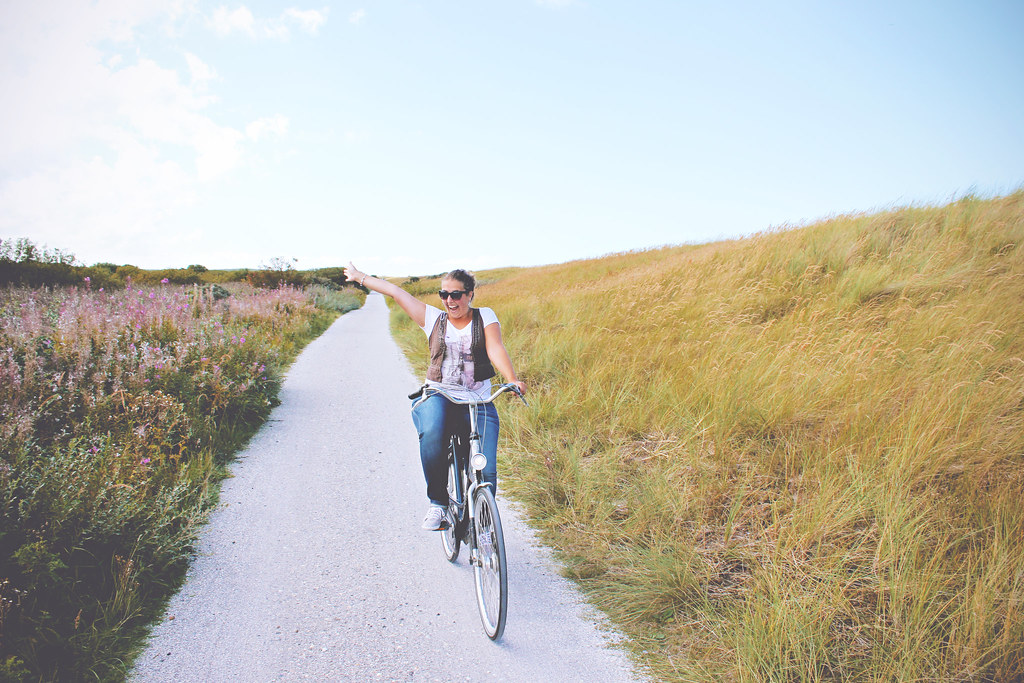 Cycling on the Dutch island of Ameland | via It's Travel O'Clock