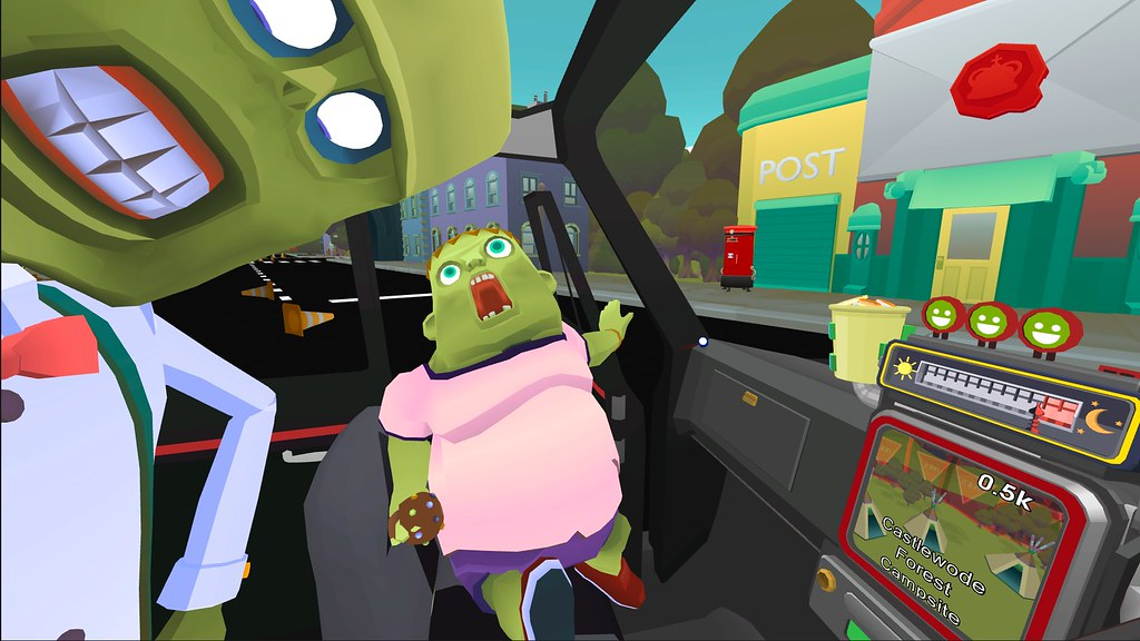 The Modern Zombie Taxi Co. Announced for PlayStation VR