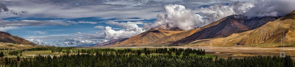 Tibet, scenic mountain valley in the Himalayas (China), 06-2016, 75 (Vlad Meytin, vladsm.com)
