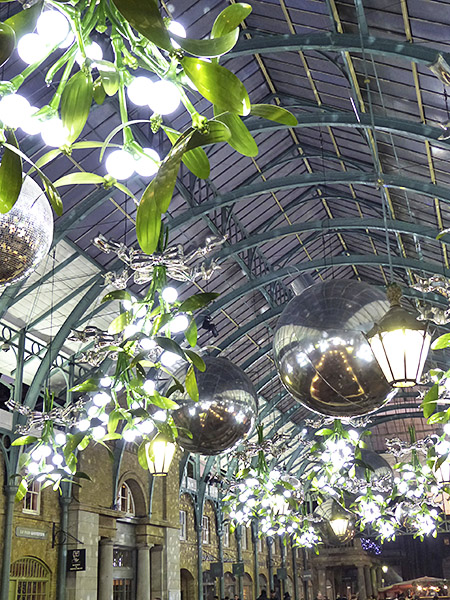 mistletoe in covent garden