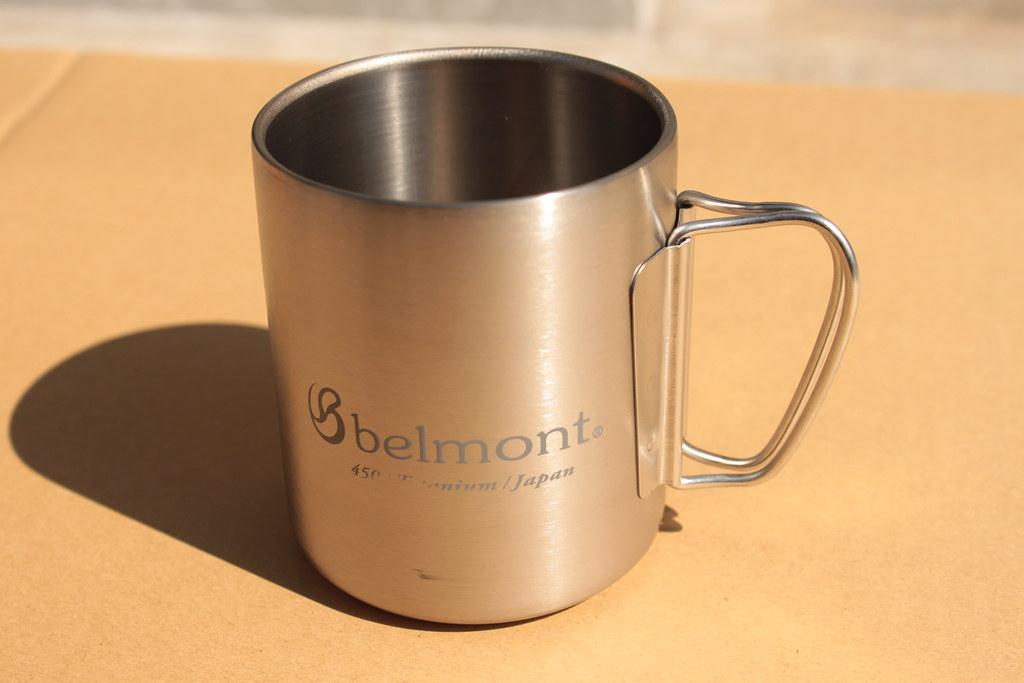 ベルモントーbelmont チタンダブルマグ450フォールディングハンドルlogo