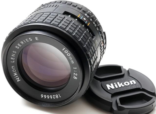 Nikon Series E 100mm f/2.8 (AIS) 極高評價最輕細人像鏡 反差低暗位出色 (95新)