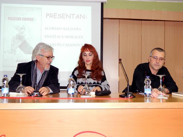 Presentación de Palillos Chinos en Zaragoza, 2-12-2015