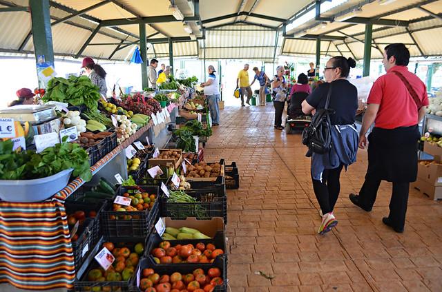Agricultural market, Candelaria, Tenerife