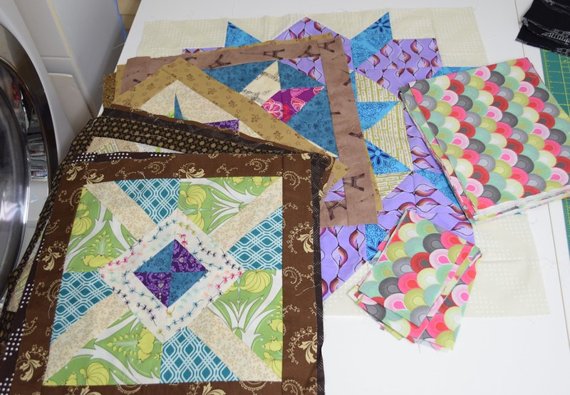 Sugar Block quilt progress for Q4
