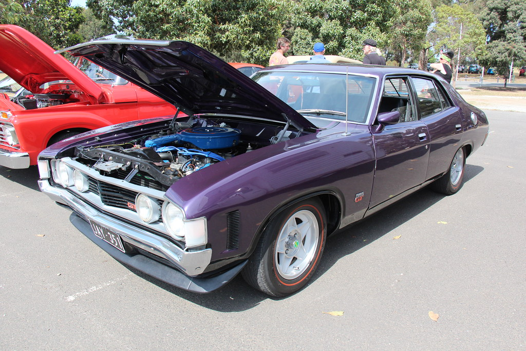 1972 Ford Xa Falcon Gt Sedan Wild Violet The Xa Falcon