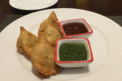 Bangalore - JW Marriot JW Kitchen samosa