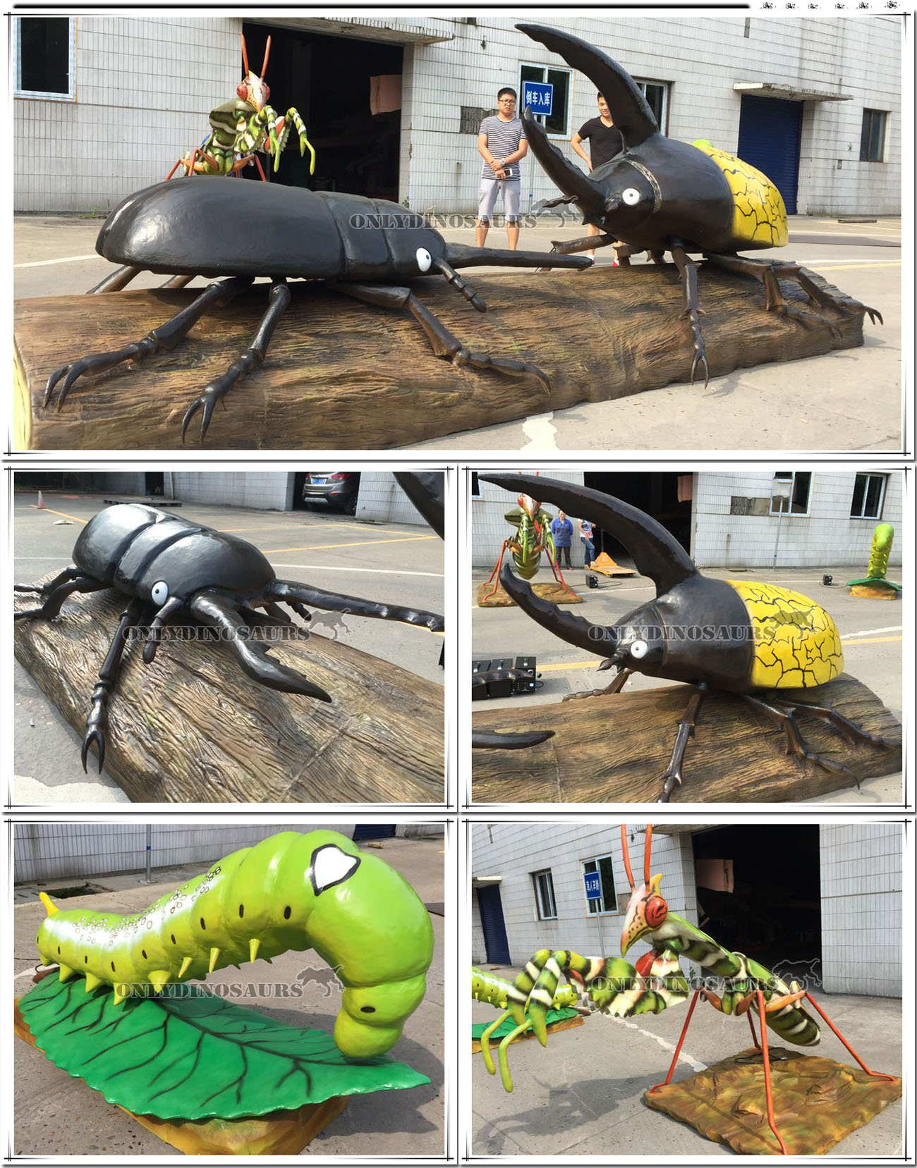Animatronic Insect Silicone Skin