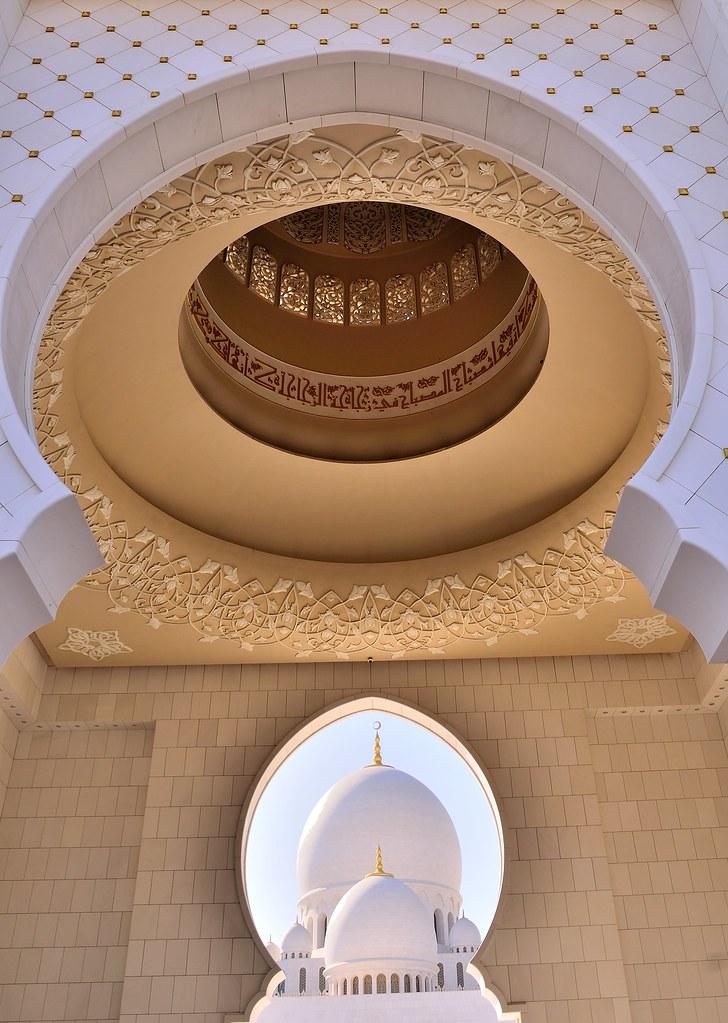 Sheikh Zayed Grand Mosque, Abu Dhabi United Arab Emirates ...