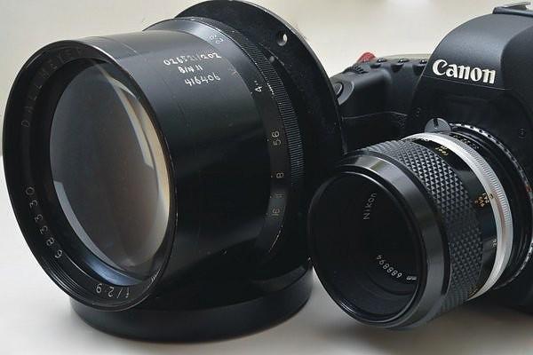 二手鏡頭 香港 . . . Dallmeyer Pentac 254mm F/2.9 頂級英國鏡 適合改裝至中大底相機 6×7 6×9 8×10 非常罕見