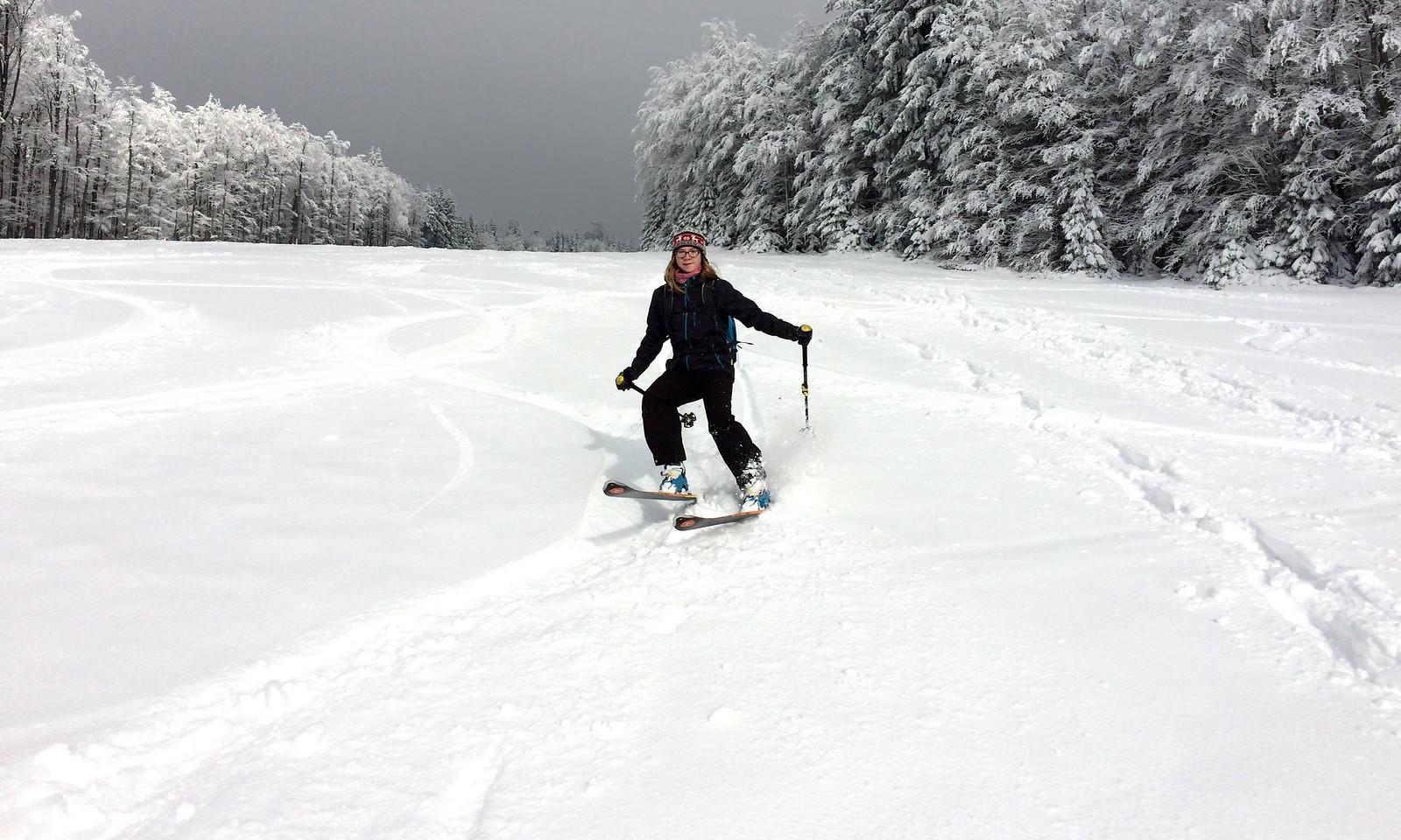Sníh je těžký, tak to řežu!