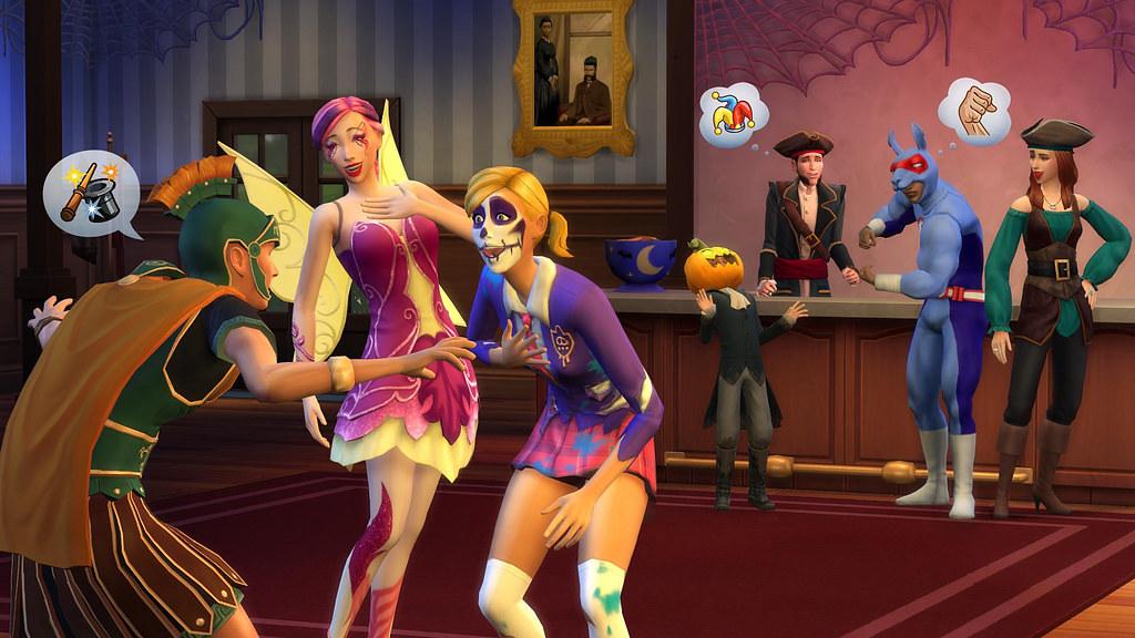 Los Sims 4 Escalofriante, disponible en consolas el 2 de octubre