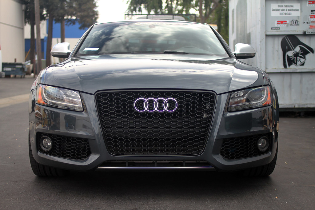 New Rs5 Honeycomb Style Fog Light Grilles For The B8 S