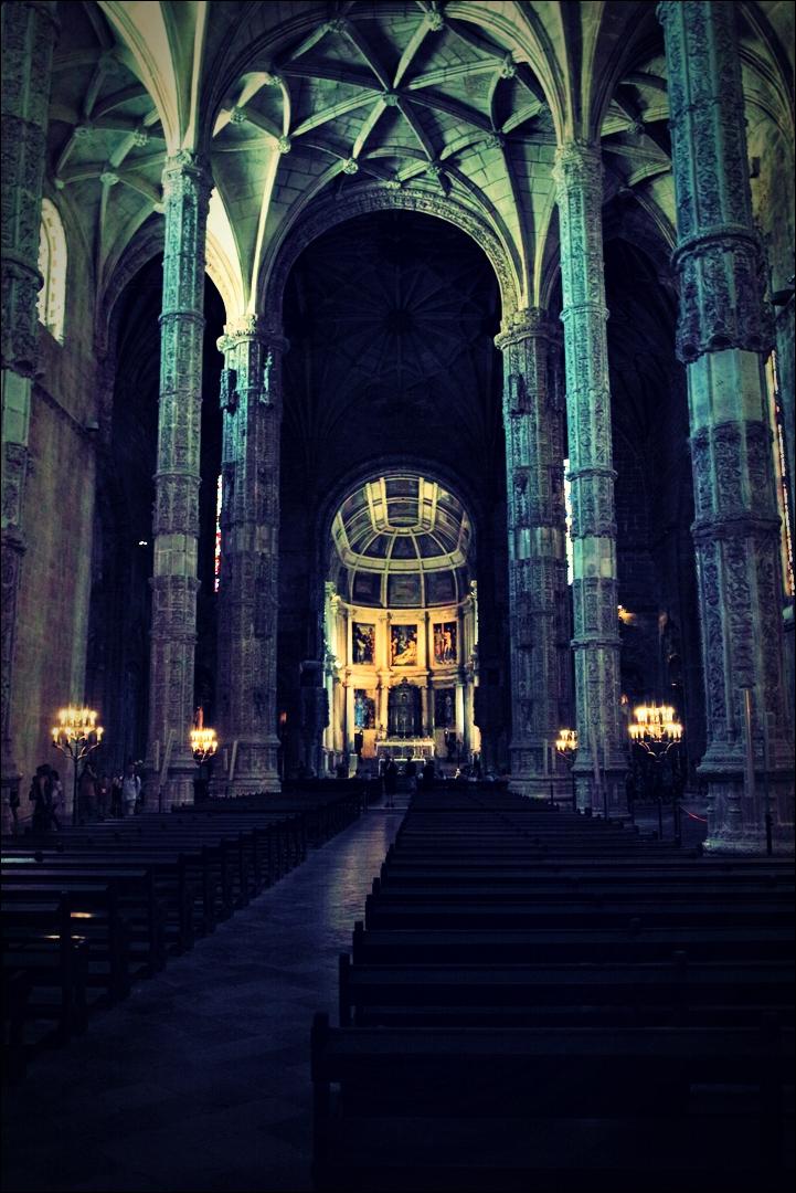 산타마리아 교회-'리스본 벨렘지구'