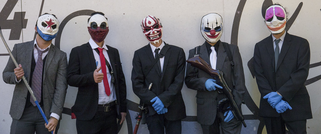 Payday 2 Cosplay - Lucca Comics & Games 2015 | Me an my frie ...