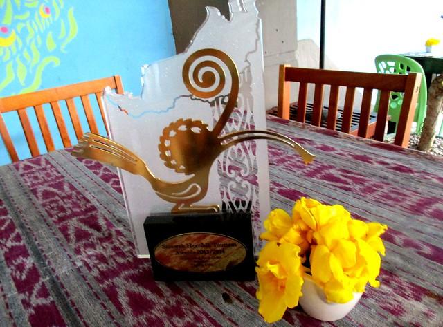 Payung Cafe Sarawak Hornbill Tourism Award 2