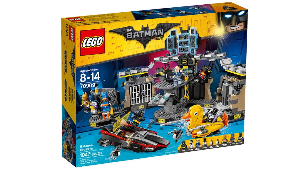 LEGO The Batman Movie 70909 - Batcave Break-In