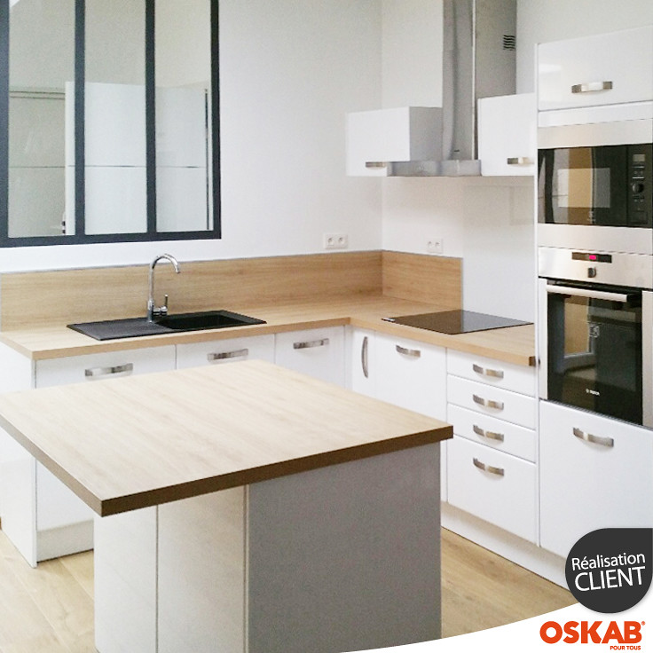 avis photos oskab anne sophie m cuisine quip e blanc flickr. Black Bedroom Furniture Sets. Home Design Ideas