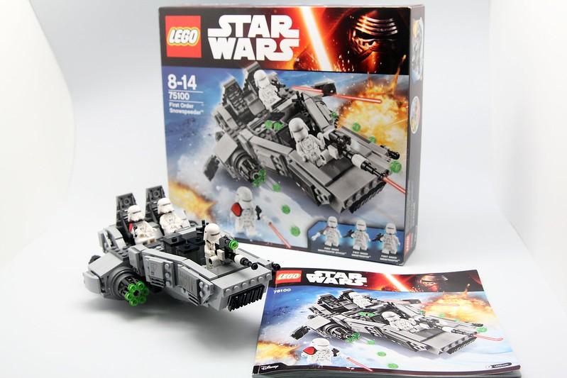 75100 First Order Snowspeeder 新帝國雪地攻擊艇
