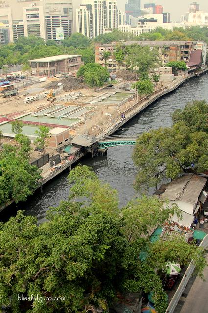 Khlong Saen Saep Canal Bangkok Thailand