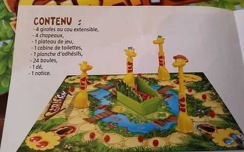 jeu de société Giraf'fun contenu