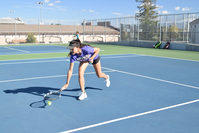 Girls tennis: MVHS vs. Homestead HS