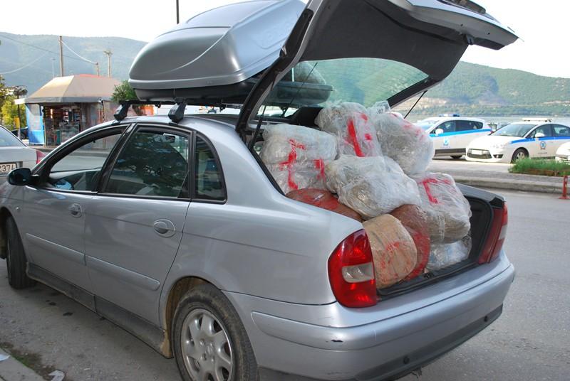 Συνελήφθη 44χρονος υπήκοος Αλβανίας στη Βρυσέλλα Θεσπρωτίας, για διακίνηση, μεταφορά και κατοχή ναρκωτικών ουσιών