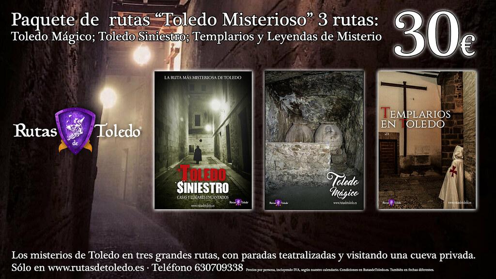 Rutas del misterio en Toledo