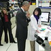 President Obama visits the Vaccine Research Center at the NIH
