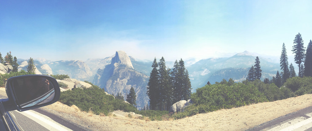 Yosemite view of Halfdome | via It's Travel O'Clock