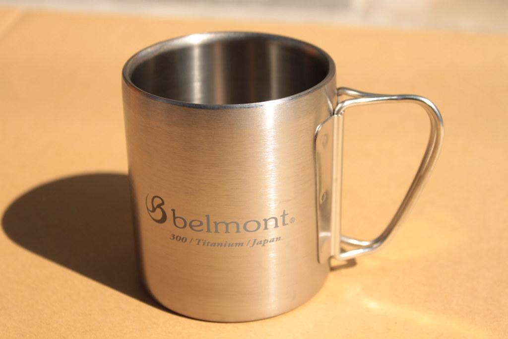 ベルモントーbelmont チタンダブルマグ300フォールディングハンドルlogo
