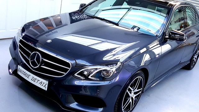 Mercedes E350 Enhancement Detail + C.quartz Finest