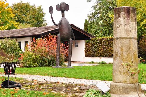 Seebruck Chiemsee Heinrich-Kirchner-Skulpturenweg Foto Brigitte Stolle Oktober 2015