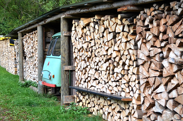 Woodpile, Black Forest, Germany