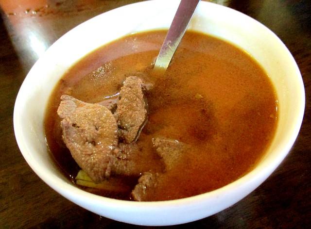 Opps liver soup