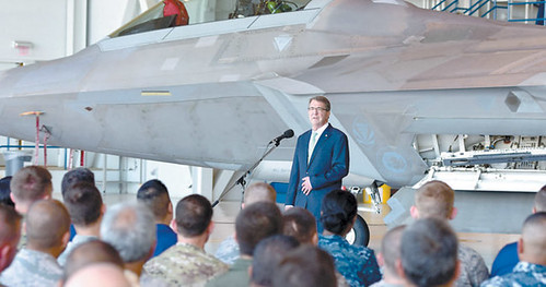 SECDEF speaks here: 'You are the rebalance'