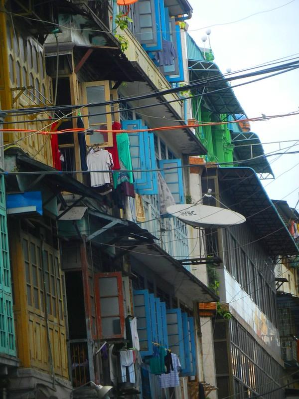 Янгон, даун-таун